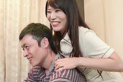 Horny Nana Nakamura provides special Asian blowjob  Photo 5