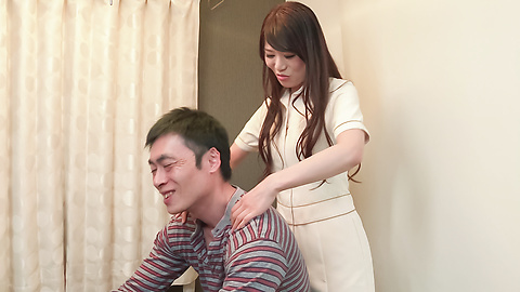 Nana Nakamura - Asian blow jobs by hot milf in sexy lingerie  - Picture 3