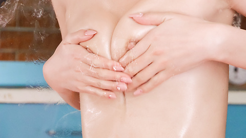 Yuria Mano - Nude beauty tries Asian dildos in her wet pussy  - Picture 10