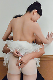 Miu Kimura - Ballerina girl ends amazing porn show with creampie Asian  - Picture 8