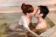 intense outdoor sex moments along busty Aya Mikami Photo 11