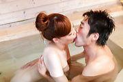 intense outdoor sex moments along busty Aya Mikami Photo 12