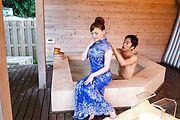 Top Aya Mikami amazing xxx porn scenes in the tub  Photo 1