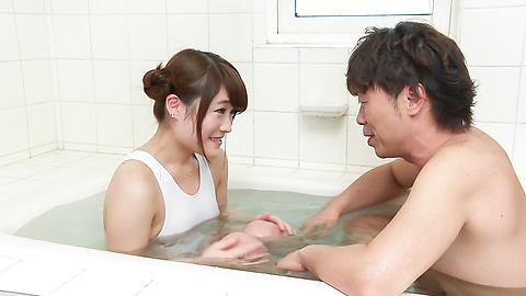 Hina Makimura - Hina Makimura enjoys hubby to stimulate her needy pussy - Picture 1