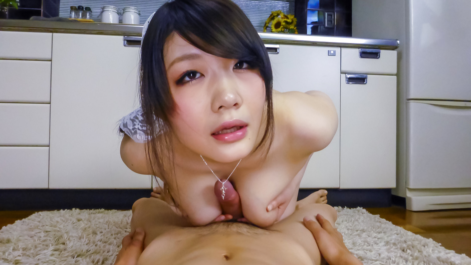 Rie Tachikawa enjoying blowjob during naughty porn play