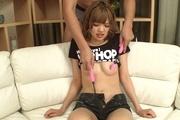 Japanese POV blowjob with youngKana Aono Photo 10