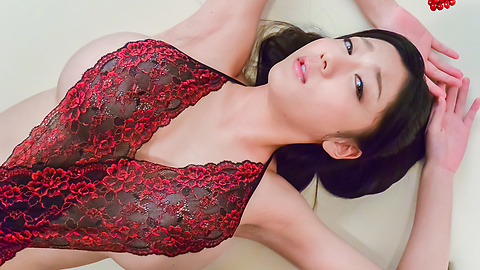 Miho Ichiki - Cock sucking beauty enjoys cum on her sweet face - Picture 2