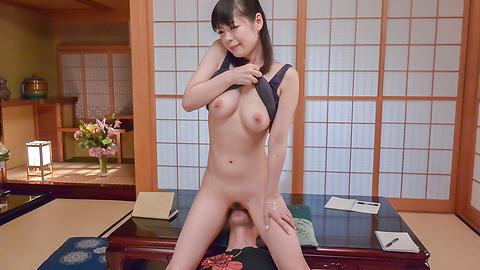 Nao Mizuki - Asian milf POV oral with needy Nao Mizuki - Picture 11