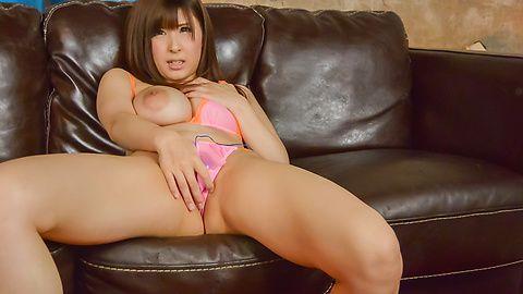 Mizuki Akai - 热 POV 日本口交与性感水木赤井 - 图片 10