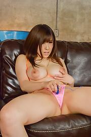 Mizuki Akai - Hot POV Japan blow job with sexyMizuki Akai - Picture 1