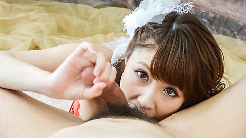 Risa Mizuki - Gorgeous Asian blow job alongRisa Mizuki - Picture 4