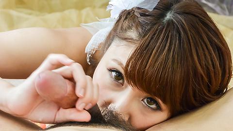 Risa Mizuki - Gorgeous Asian blow job alongRisa Mizuki - Picture 7