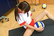 Amazing Japanese schoolgirl solo masturbation xxx  Photo 4