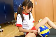 Amazing Japanese schoolgirl solo masturbation xxx  Photo 7