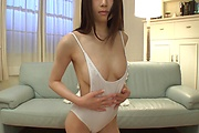 Stunning Asian milf goes full mode with her nudity solo  Photo 7