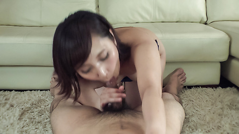 Uika Hoshikawa - Sexy amateur amazes with supreme Asian blowjob - Picture 9