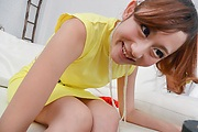 Busty babe Reon Otowa gives an awesome blowjob Photo 3