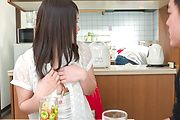 Sanae Akino - Asian amateur starts sucking cock in really hot ways - Picture 11