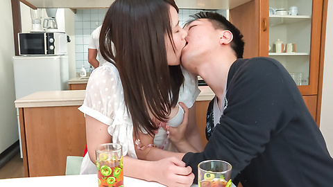 Sanae Akino - Asian amateur starts sucking cock in really hot ways  - Picture 4