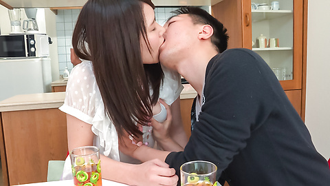Sanae Akino - Asian amateur starts sucking cock in really hot ways  - Picture 5