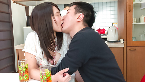 Sanae Akino - Asian amateur starts sucking cock in really hot ways  - Picture 8