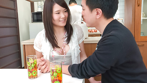 Sanae Akino - Asian amateur starts sucking cock in really hot ways - Picture 9