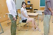 Asian blowjob along steamy Japanese Yui Oba Photo 2