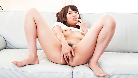 Konoha Kasukabe - Nude amateur Asian doll complete pussy masturbation  - Picture 6