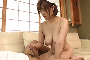 Big tits wife sucks cock until the last drop of sperm Photo 10