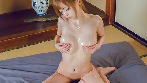 Mikuru Shiina - Asian amateur porn solo with busty Mikuru Shiina  - Picture 11