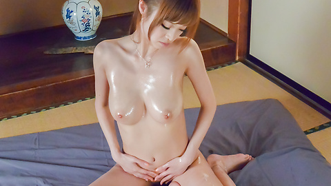 Mikuru Shiina - Asian amateur porn solo with busty Mikuru Shiina  - Picture 12