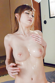 Mikuru Shiina - Asian amateur porn solo with busty Mikuru Shiina  - Picture 3