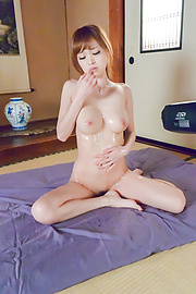 Mikuru Shiina - Asian amateur porn solo with busty Mikuru Shiina  - Picture 5