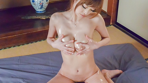 Mikuru Shiina - Asian amateur porn solo with busty Mikuru Shiina  - Picture 8