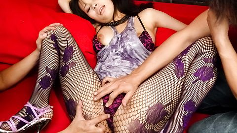 Kyouko Maki - Kyouko Maki with an asian blow job and a pussy for guys to fuck - Picture 3