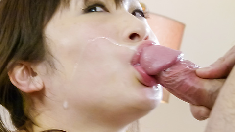 Yuwa Tokona - Yuwa Tokona fucked with toys in stockings after a japanese blowjob - Picture 11