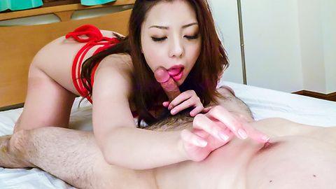 Maki Mizusawa給予溫暖的日本口交
