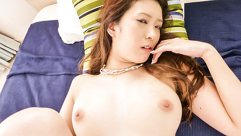 Yui Kasuga - Cute Milf Yui Kasuga loves to show off her sexy stockings - Picture 4
