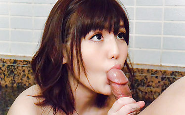 Sensual Yua Ariga enjoys cock in full POV mode