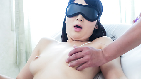 Chie Aoi - Big Asian dildo hard porn for brunette Asian  - Picture 7