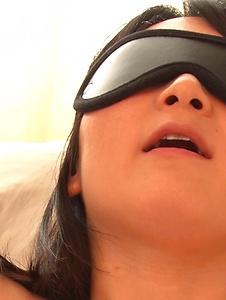Chie Aoi - Big Asian dildo hard porn for brunette Asian  - Screenshot 4