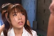 Naughty asian schoolgirl Hinata Tachibana gets facials Photo 12
