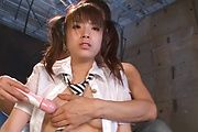 Naughty asian schoolgirl Hinata Tachibana gets facials Photo 9