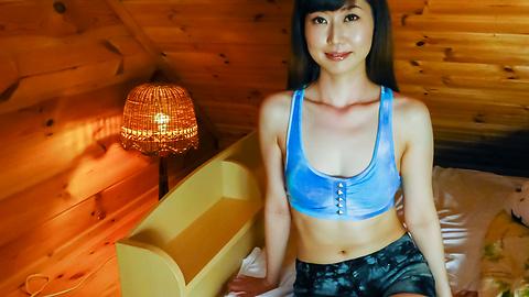 Ayaka - Japanese blow job with amateur babeAyaka - Picture 5
