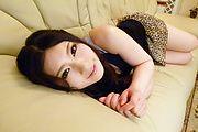 Dashin Yua Saiki amazes with her perfect Asian blowjob  Photo 1