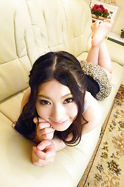 Yua Saiki - Amazing Asian blowjob with insolent Yua Saiki  - Picture 10