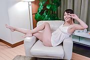 Yui Oba - Yui Oba tries Asian dildos up her fine cunt - Picture 5