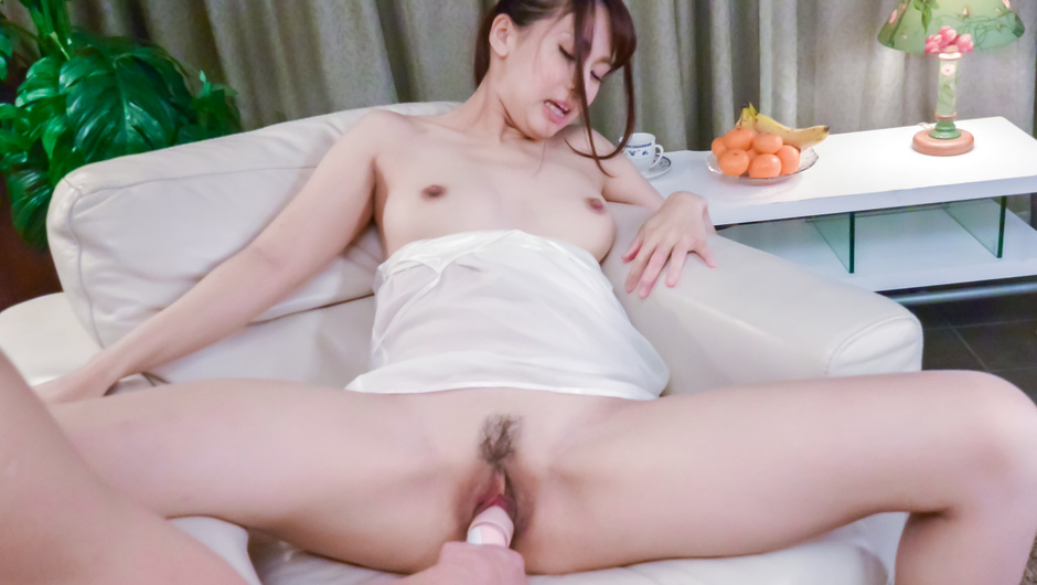 Adorable POV Asian dildo porn with Yui Oba