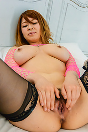 Suzuna Komiya - Suzuna Komiya uses Asian dildos in sensual manners  - Picture 11