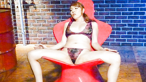 Chieri Matsunaga - Asian dildos to please sleazy Chieri Matsunaga  - Picture 4
